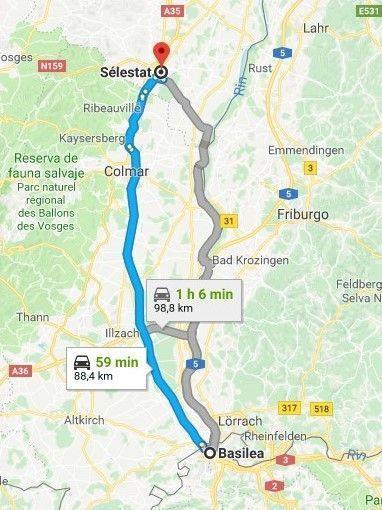 Ruta Alsacia