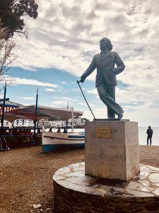 Estatua a Dalí