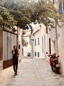 una calle cualquiera de Cadaqués