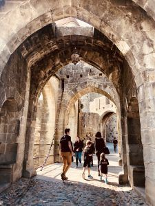 Entrada a la muralla, Carcassonne