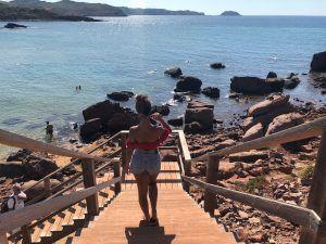 Acceso Playa de Cavalleria