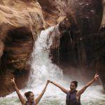 Cascada final, Wadi Mujib
