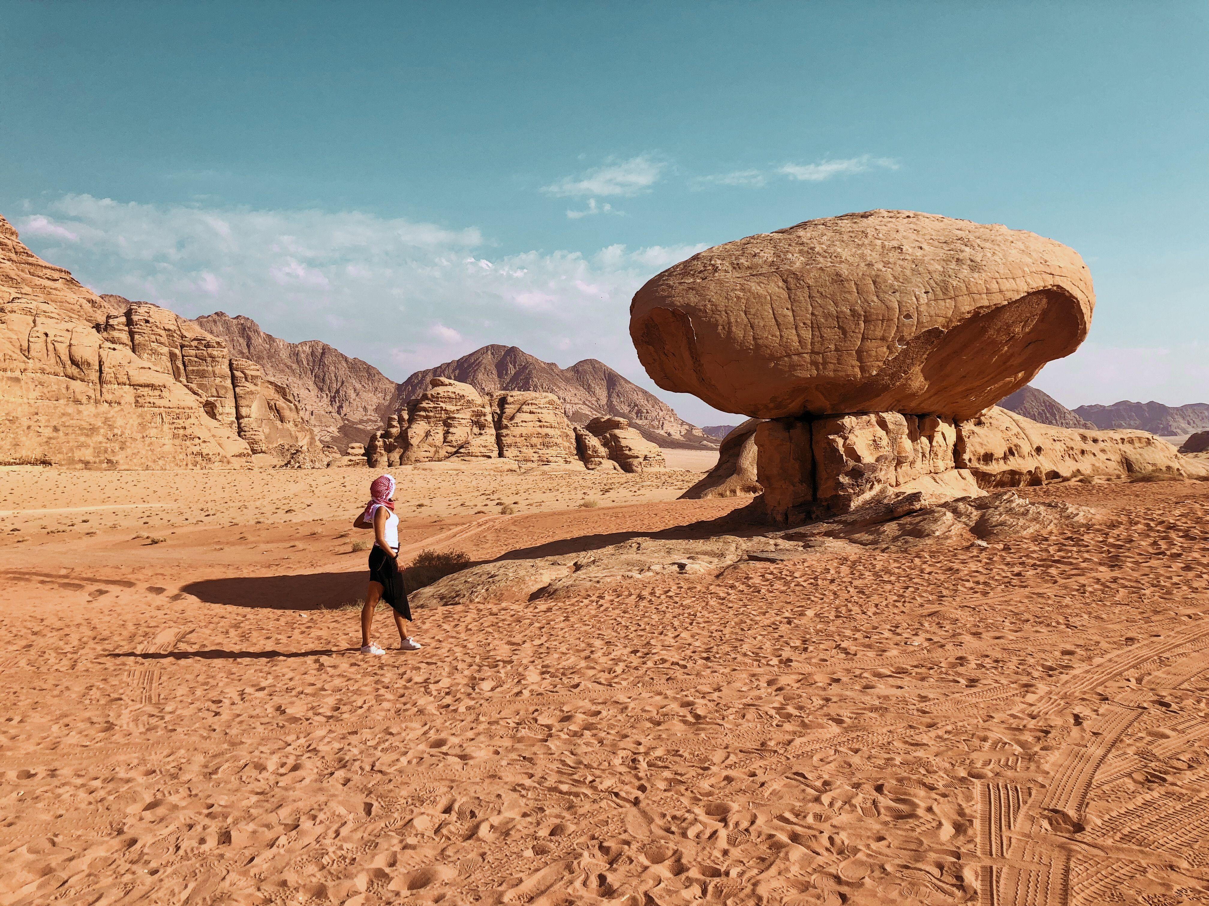 Día 2: Noche en el desierto de Wadi Rum