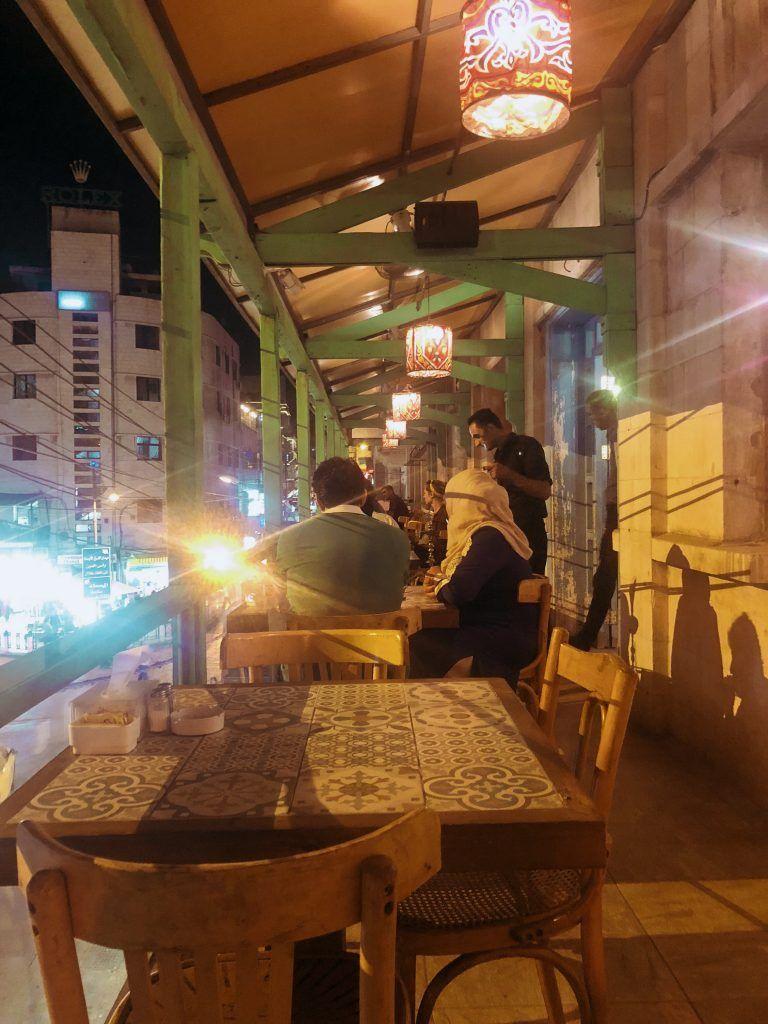 Terraza Zajal Café, Amman