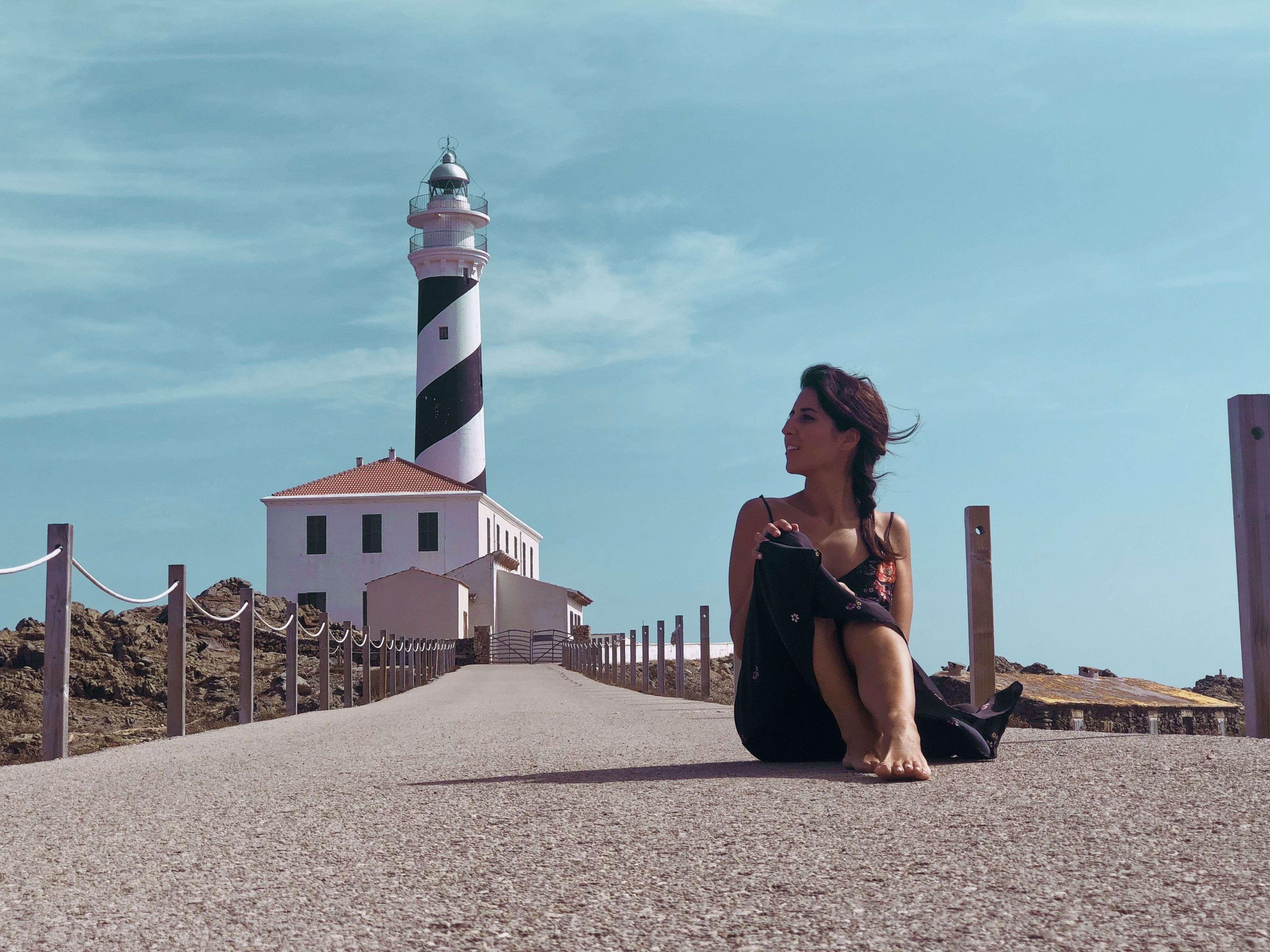 Faro de Favaritx, Cala Tortuga y Cala Presili