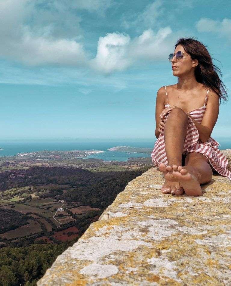 Vistas de Menorca desde el mirador del Toro