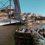 Bar con vistas al puente Luis I