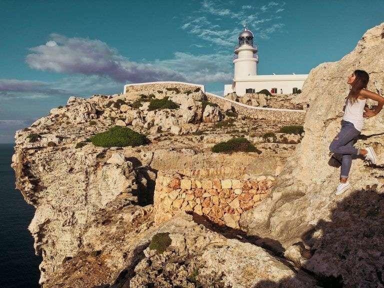 Faro de Caballería, uno de los sitios más bonitos de Menorca