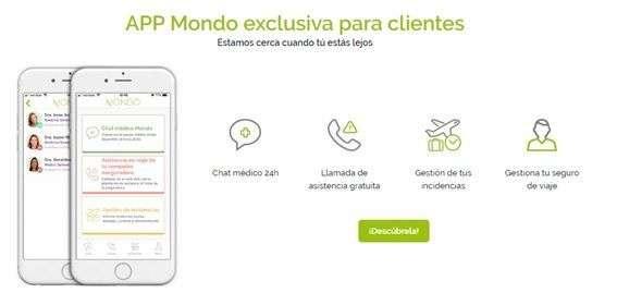 App seguro de viajes Mondo