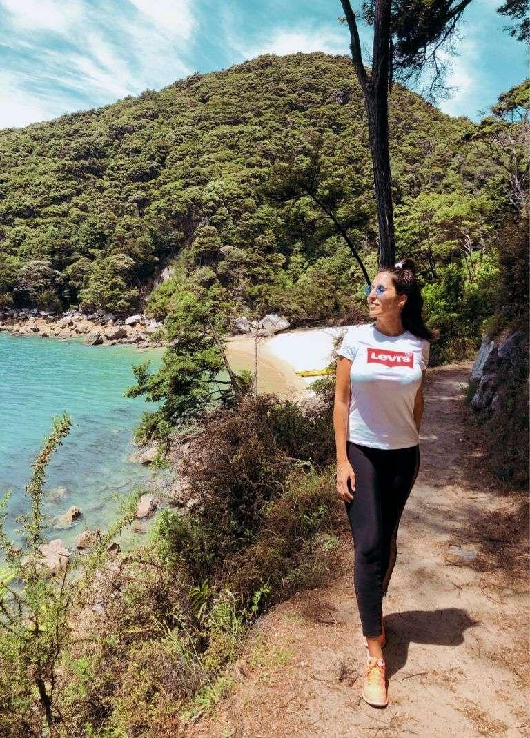 Viajar sola por Abel Tasman es seguro