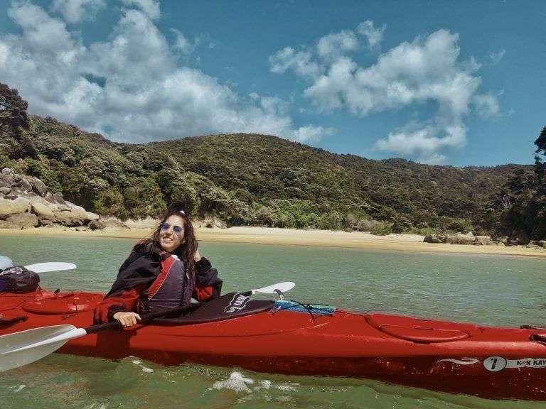 Ruta de un día en Abel Tasman con Kayak incluido