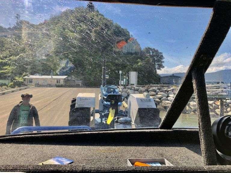 Water Taxi entrando en Abel Tasman