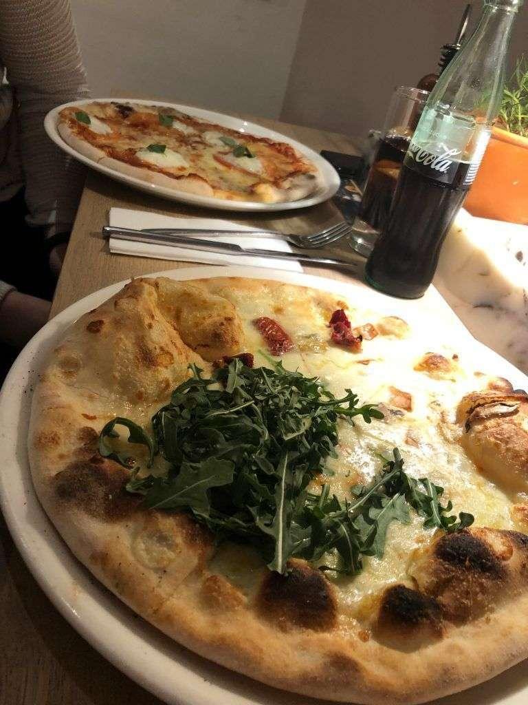 Pizzas del Restaurante Vapiano en Diagonal Mar