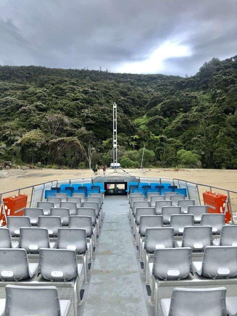 Sea Shuttle en Abel Tasman National Park