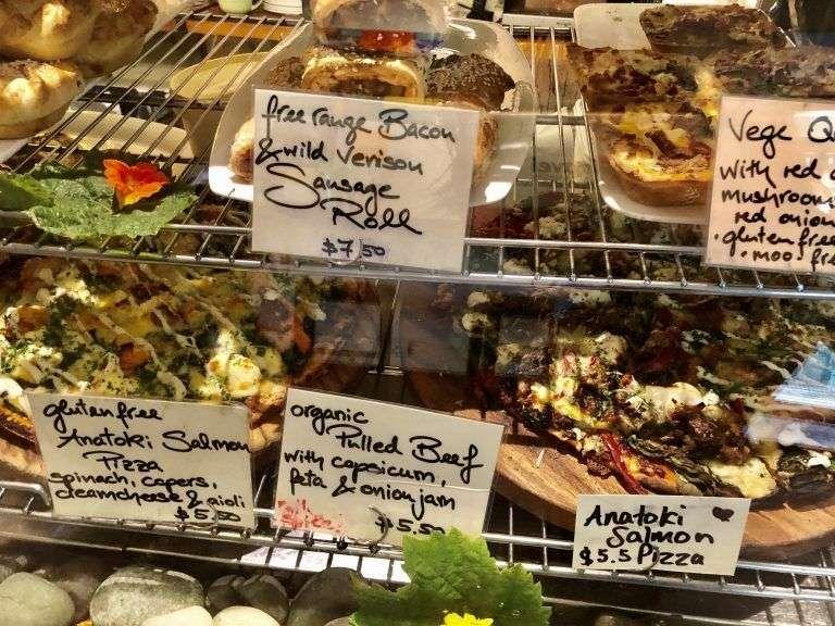 Expositor de comida ecológica en Dangerous Kitchen