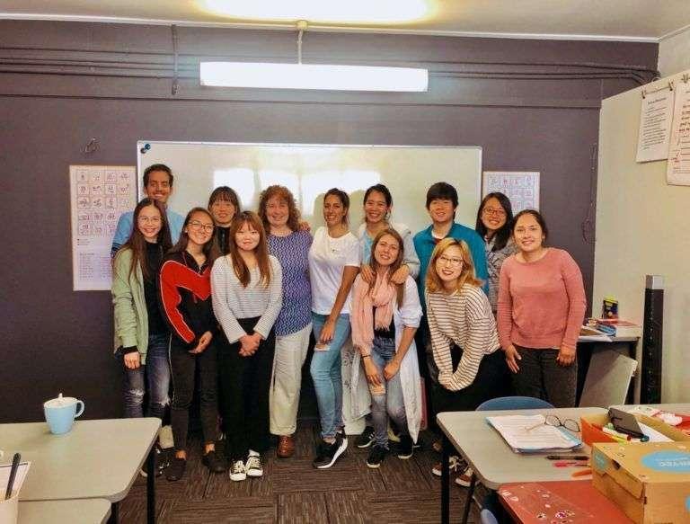 mi clase de inglés en Nelson English Centre