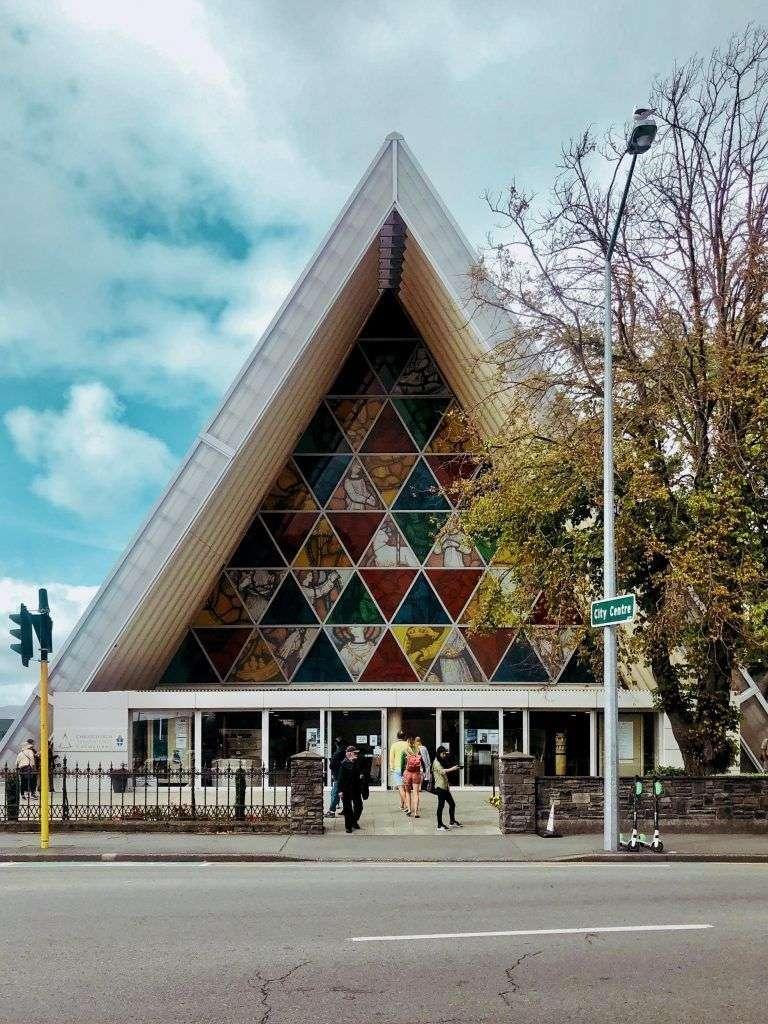 Catedral de Cartón Christchurch