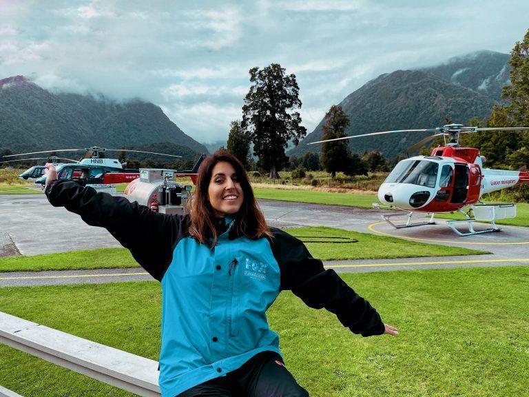 Primera vez en helicoptero, mi experiencia en Fox Glacier