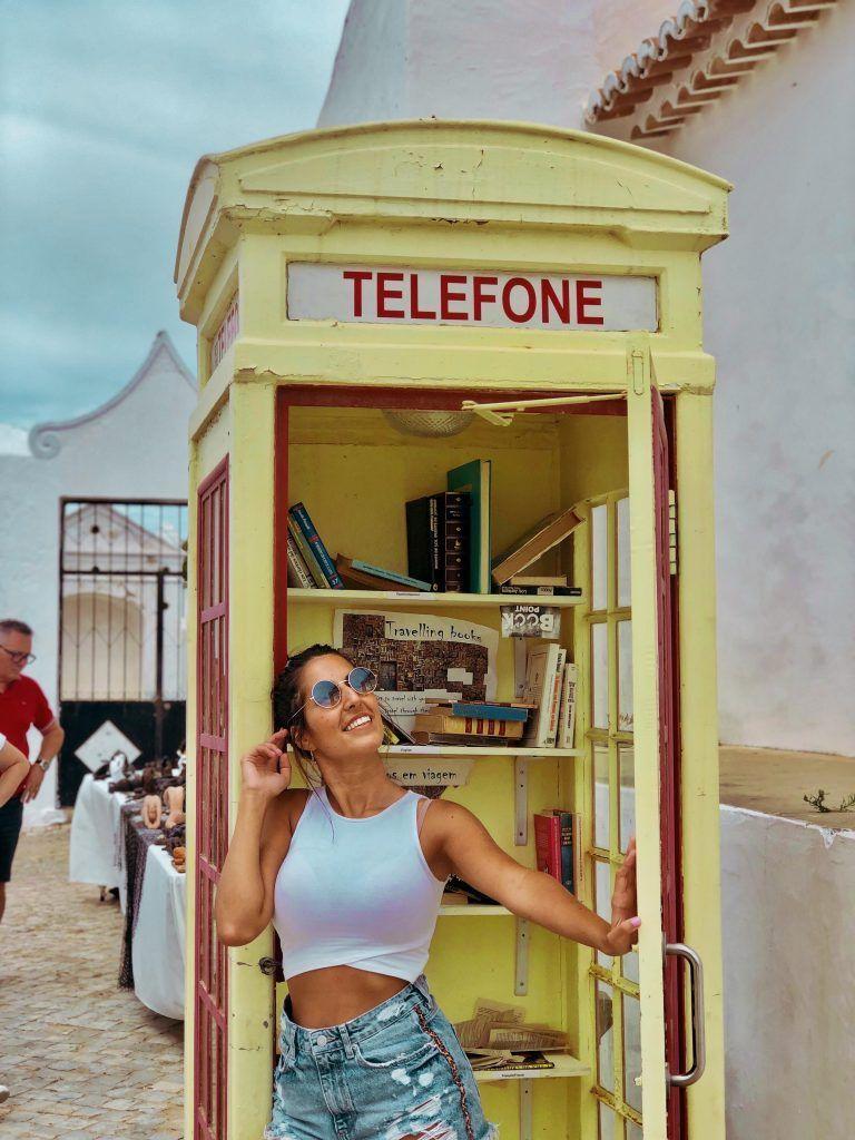Cabina de teléfonos de Cacela Velha