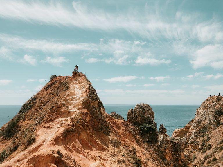 Ponta da Piedade, uno d emis 20 imprescindibles del Algarve Portugués