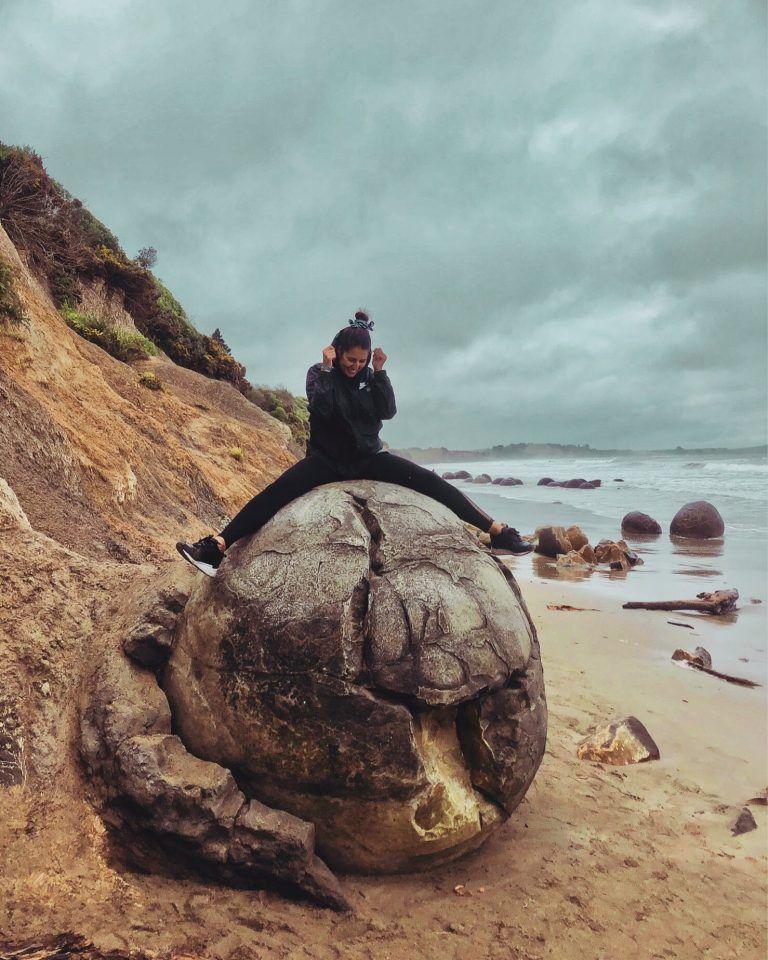 Moureka Boulders, Nueva Zelanda