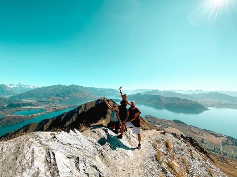 Roys Peak, track imprescindible en Nueva Zelanda