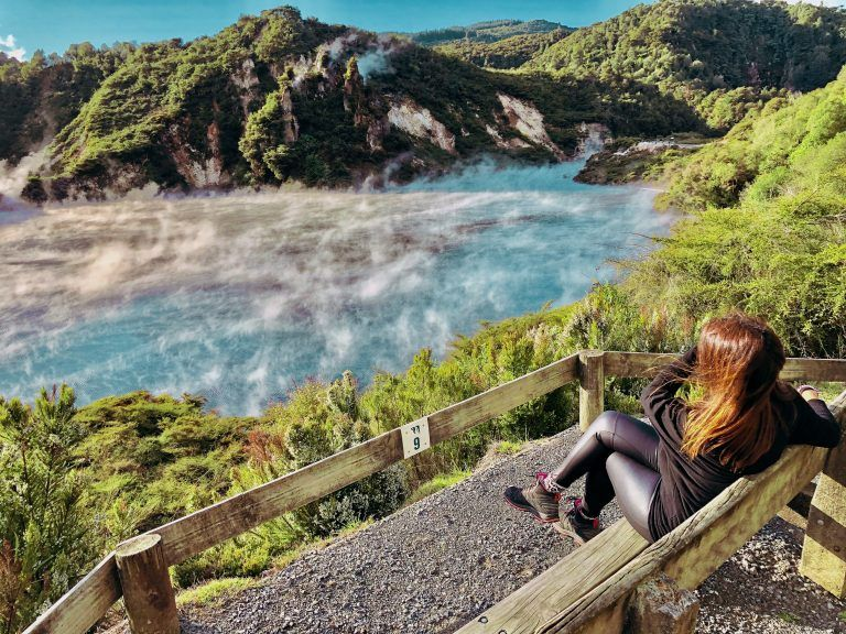 Rotorua, un imprescindible de Nueva Zelanda