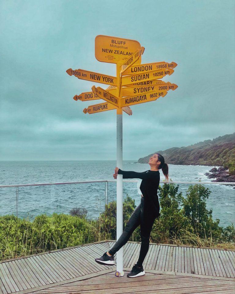 Bluff, punto más al sur de la Isla Sur de Nueva Zelanda