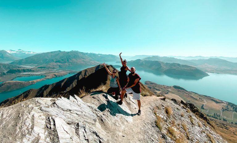 Roys peak, ruta de 15 días por la isla sur de Nueva Zelanda