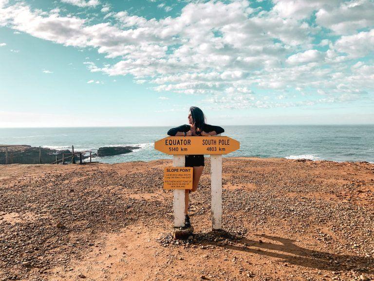 Ruta de 15 días por la Isla Sur de Nueva Zelanda, Slope Point
