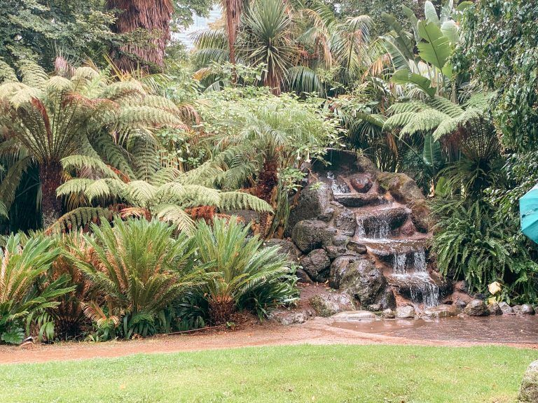 Cascada en Fitzroy gardens
