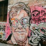 Graffiti Elton John