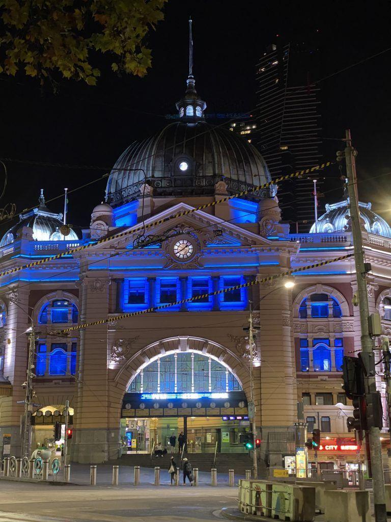 Flinders stationm, Melbourne