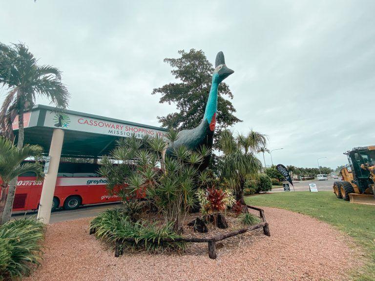 Bus greyhound en Mission Beach