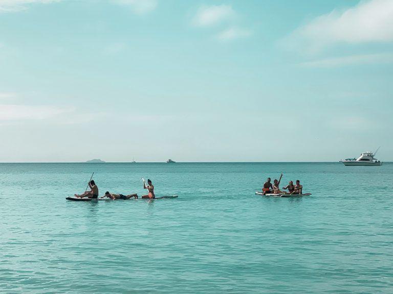 Paddle surf en whitsundays