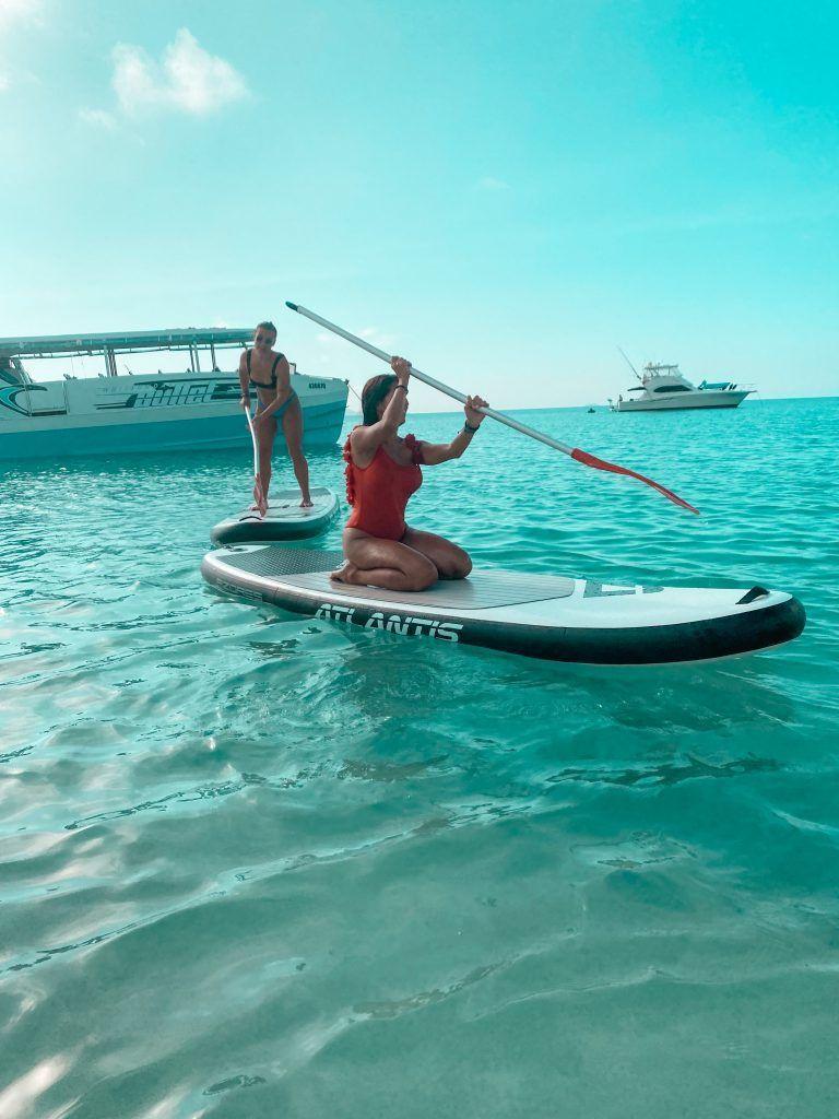 Paddle surf in Whitsundays