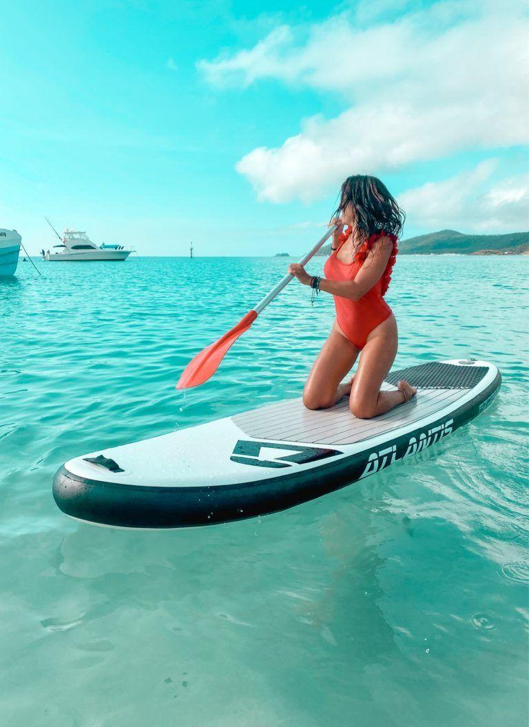 Paddle surf whiteheaven beach