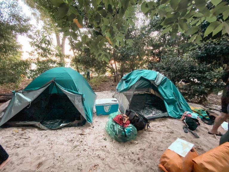 Camping in Whitsundays, Viajar por Australia en autobús